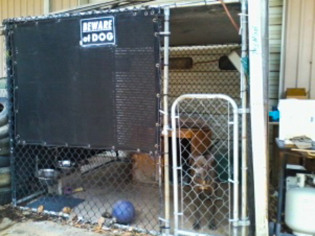 Sun shade screens can be customized in a variety of sizes for all types of stalls, pens, kennels, and animal enclosures.