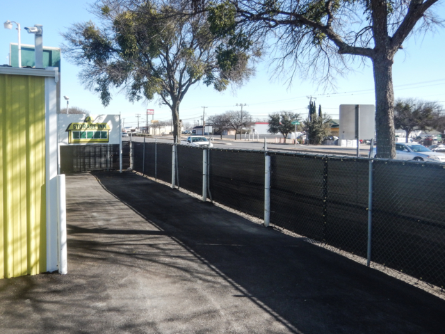 Fence screens add privacy and enhance protection and security for all types of facilities.  Tarp screen vision barriers can be installed on many types of fences and and length of fence to create a vision barrier.