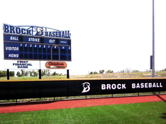 Mesh fence screens are fabricated and customized in a variety of colors and sizes to fit your field. Our windscreens are custom fabricated and professionally installed.