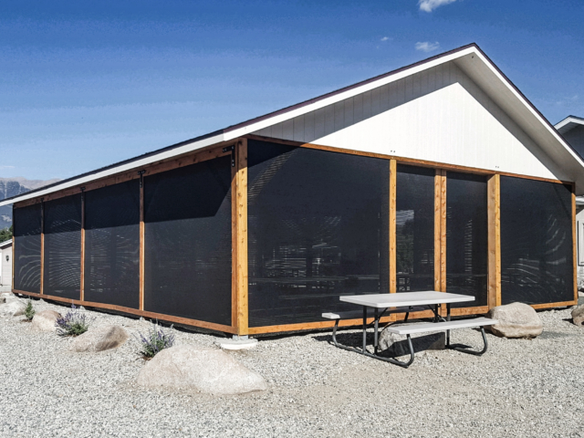 When it comes to windscreens, shade screens and privacy screens to provide protection from the elements that make outdoor seating more comfortable and protected Windscreen Supply screens are used successfully by home owners across the USA and Canada.