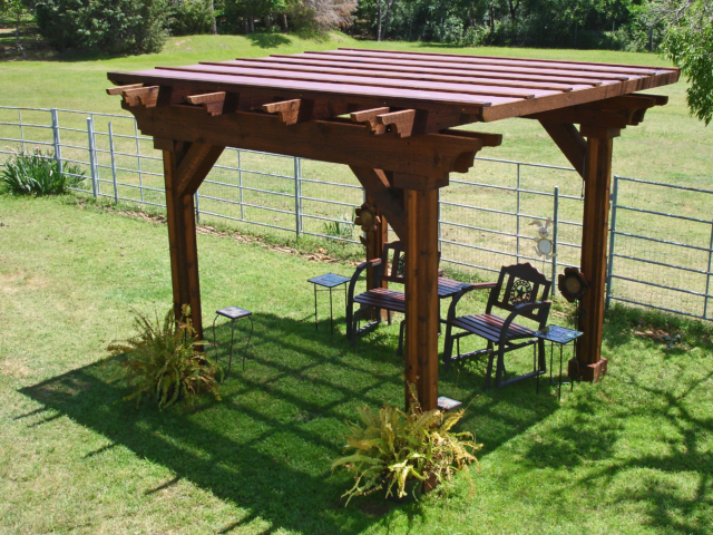 Canopy shade tarps can be custom sized and fabricated to many structures for shade and weather protection