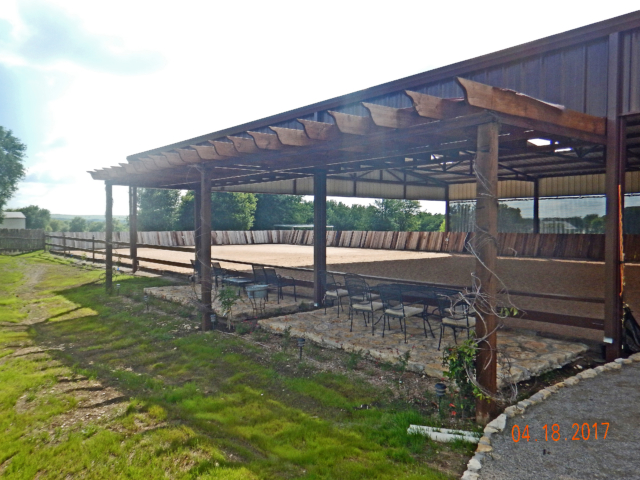 Guests and family enjoy outdoor seating areas in rain and hot temperatures when canopy shade covers are installed.