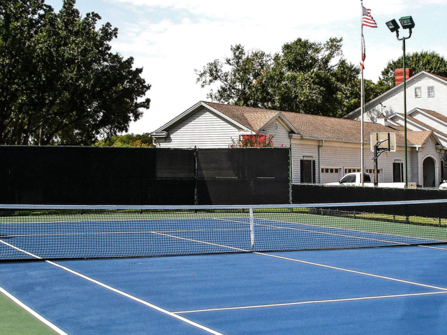 Windscreen Supply are the pros when it comes to screens for tennis courts. improve ball visibility and enhance a tennis court. Screens, fabric canopy tarps and mesh netting can be used in a variety of ways on and around the court.