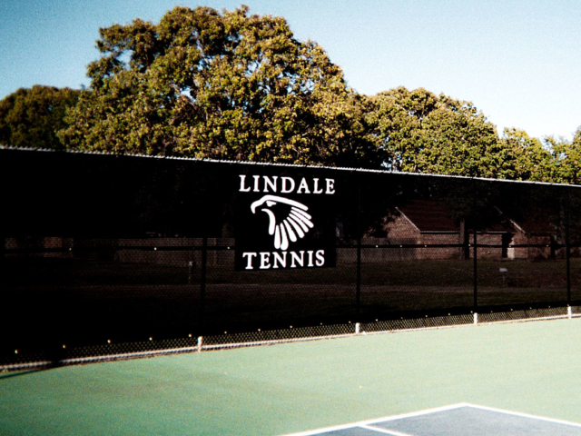 Tennis windscreens hide the look of chain link fences and dress up courts.  Tennis windscreens define courts and give your facility a professional look.  Windscreens provide shade for fans and players, while aiding in crowd control.  StrokeMaster can help with resurfacing, netting, posts, windscreen, and fence applications.